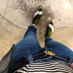Zara Embellished Ankle Boots